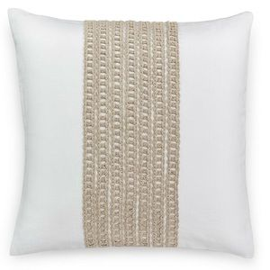 NWT✨ Hotel Collection|Chain Link Decorative Pillow